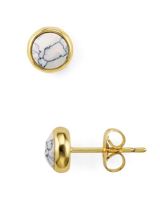 Gorjana - Multicolor Stone Stud Earrings - Lyst