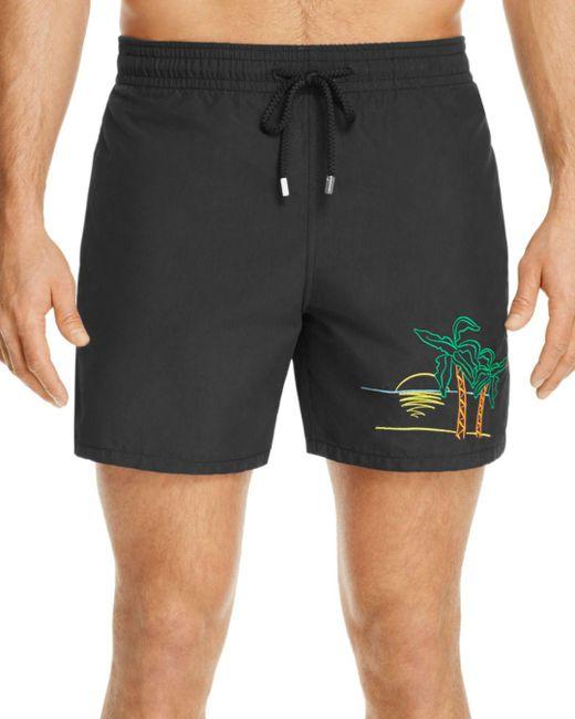 Vilebrequin - Black Mini Moke Swim Trunks for Men - Lyst