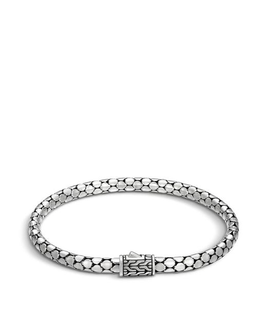 John Hardy | Metallic Sterling Silver Dot Small Chain Bracelet | Lyst