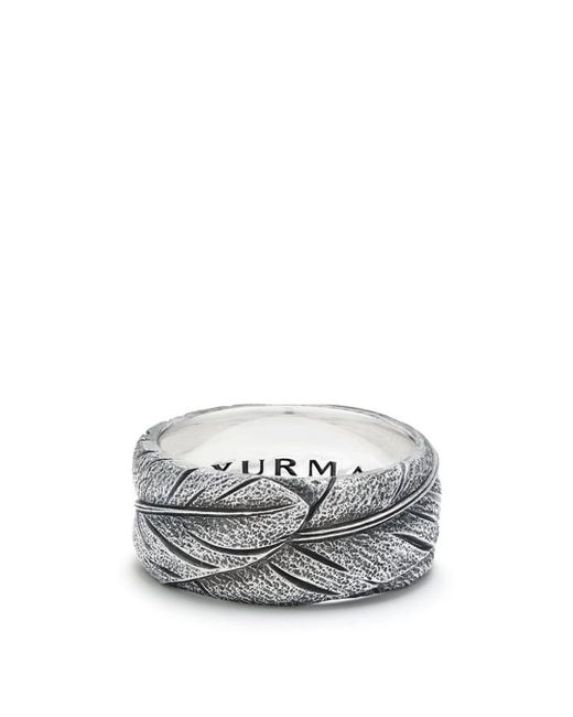David Yurman - Metallic Southwest Wide Feather Band Ring for Men - Lyst