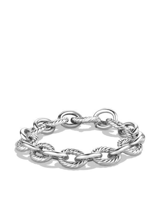 David Yurman - Metallic Oval Large Link Bracelet - Lyst