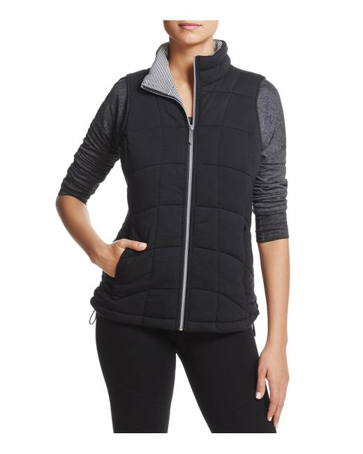 Marc New York | Black Andrew Marc Performance Quilted Knit Vest | Lyst