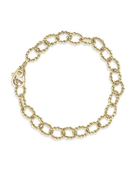 Lagos - Metallic Caviar Gold Collection 18k Gold Link Bracelet - Lyst