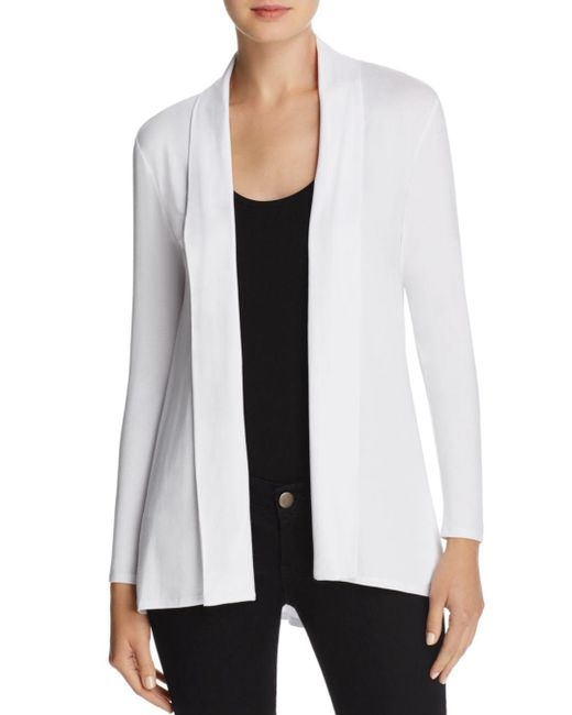 Vince Camuto - White Open Front Cardigan - Lyst