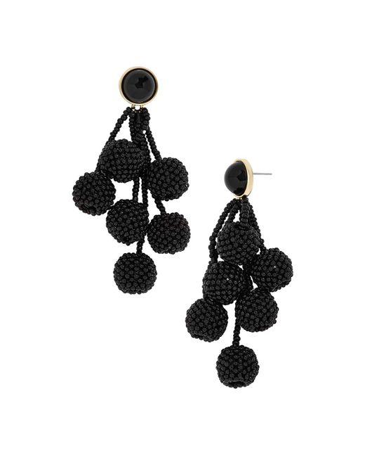 BaubleBar - Black Coretta Drop Earrings - Lyst