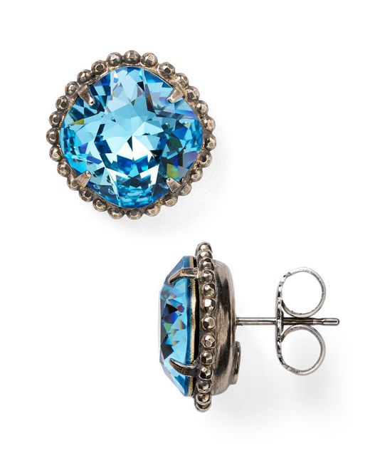 Sorrelli | Blue Stud Earrings | Lyst