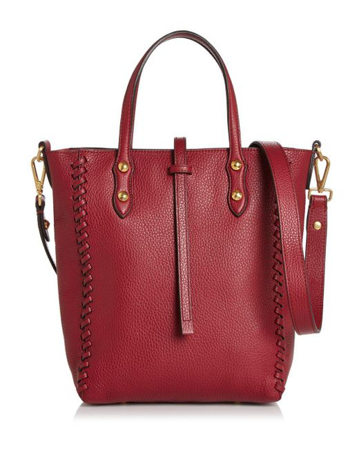 Annabel Ingall - Red Ella Mini Whipstitch Tote - Lyst