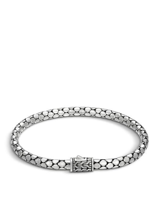 John Hardy - Metallic Sterling Silver Dot Small Chain Bracelet - Lyst
