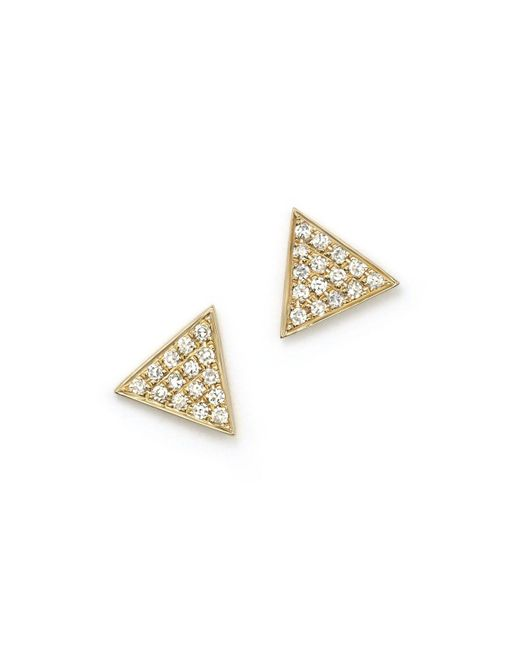 Dana Rebecca | Pink 14k Yellow Gold Emily Sarah Earrings With Diamonds | Lyst