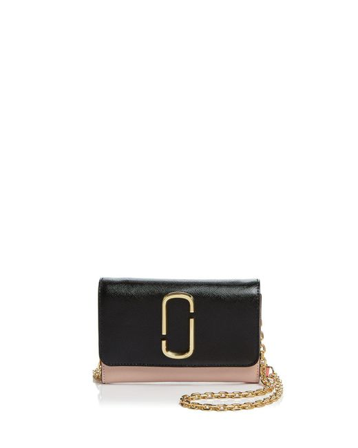 Black and Pink Chain Wallet Bag Marc Jacobs bnKk8B