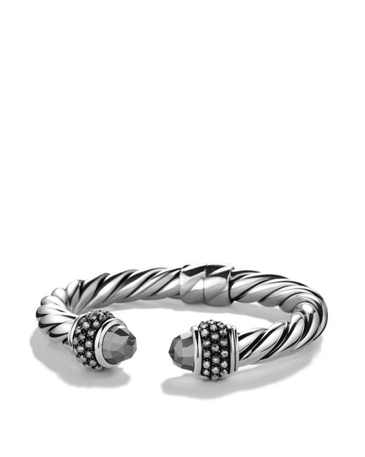 David Yurman | Metallic Osetra Bracelet With Hematine | Lyst