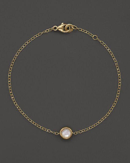Ippolita - Metallic 18k Gold Mini-lollipop Bracelet In Mother-of-pearl - Lyst