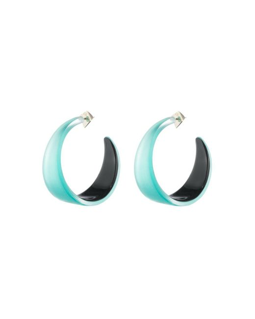 Alexis Bittar - Multicolor Lucite Hoop Earrings - Lyst
