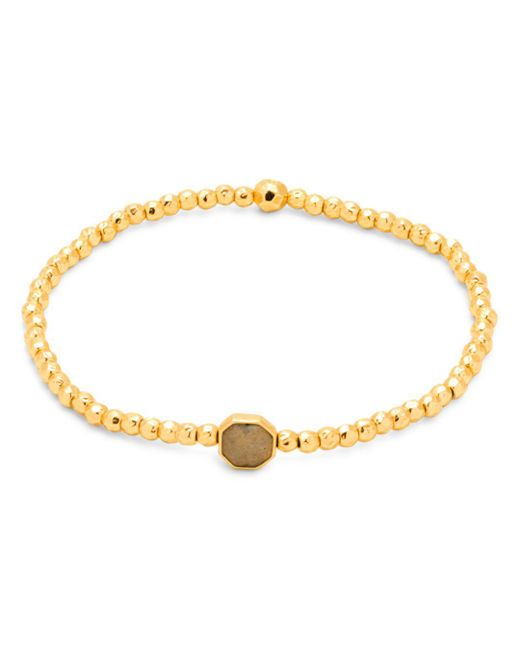 Gorjana - Metallic Power Stone Station Bracelet - Lyst