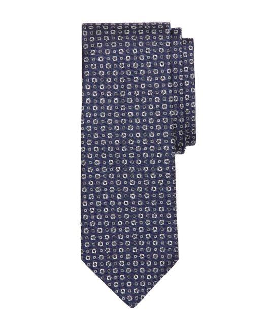 Brooks Brothers - Blue Florette Neat Silk Classic Tie for Men - Lyst