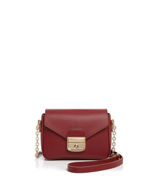 Longchamp | Red Le Pliage Heritage Xbody Xs | Lyst