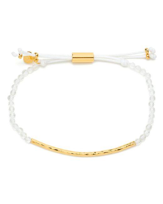 Gorjana - Metallic Gold-tone Stone Beaded Bracelet - Lyst