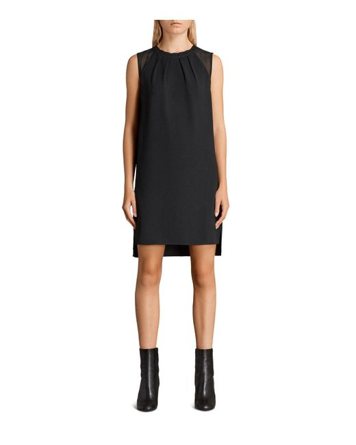 AllSaints | Black Jay Dress | Lyst