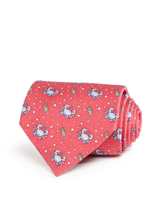 Vineyard Vines - Pink Crab Classic Tie for Men - Lyst