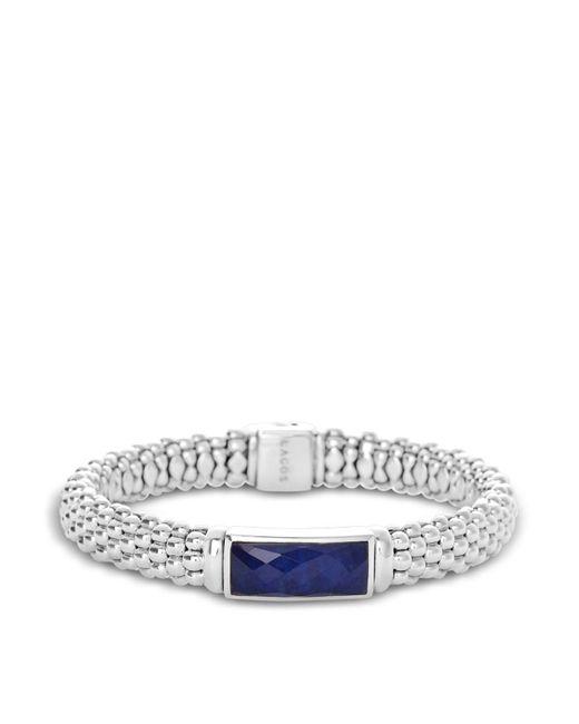 Lagos | Blue Sterling Silver Maya Lapis Doublet Rope Bracelet | Lyst