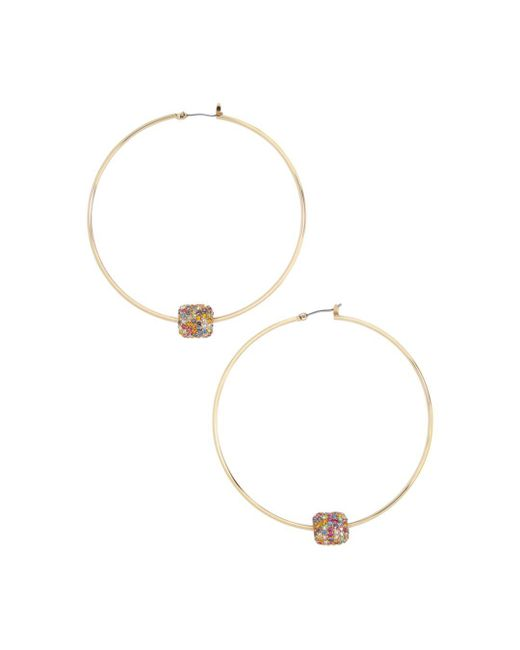BaubleBar - Metallic Essra Hoop Earrings - Lyst