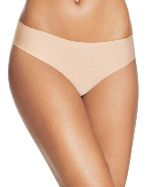 Commando Natural Butter Mid - Rise Thong