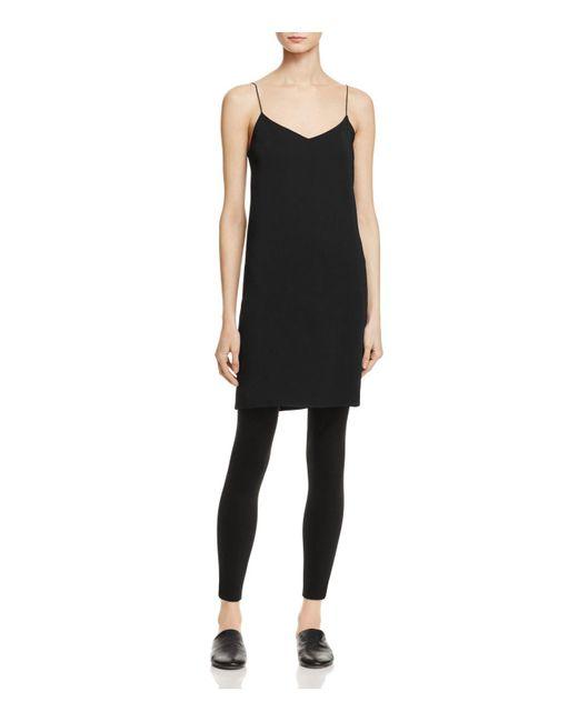 Vince | Black Slip Dress | Lyst