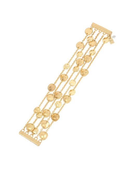 Robert Lee Morris - Metallic Multi-row Disc Bracelet - Lyst