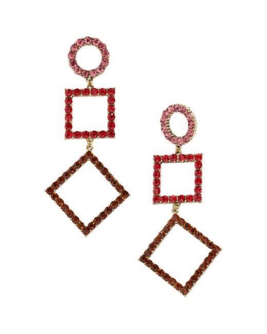 BaubleBar - Pink Seres Drop Earrings - Lyst