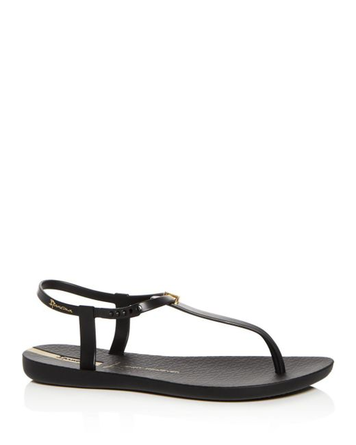 Ipanema - Black Women's Premium Lenny Desire Thong Sandals - Lyst