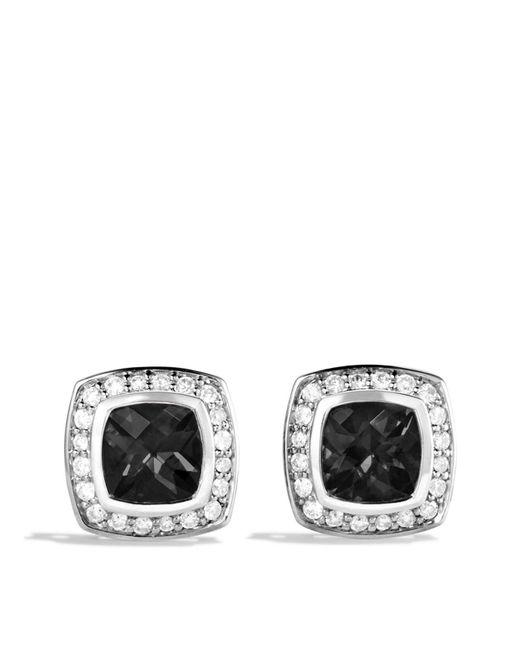 David Yurman - Petite Albion Earrings With Black Onyx & Diamonds - Lyst