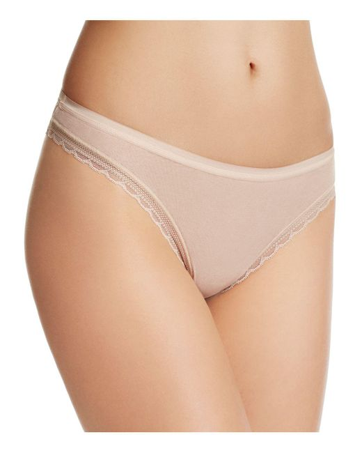 On Gossamer | Natural Next To Nothing Hip G Thong | Lyst