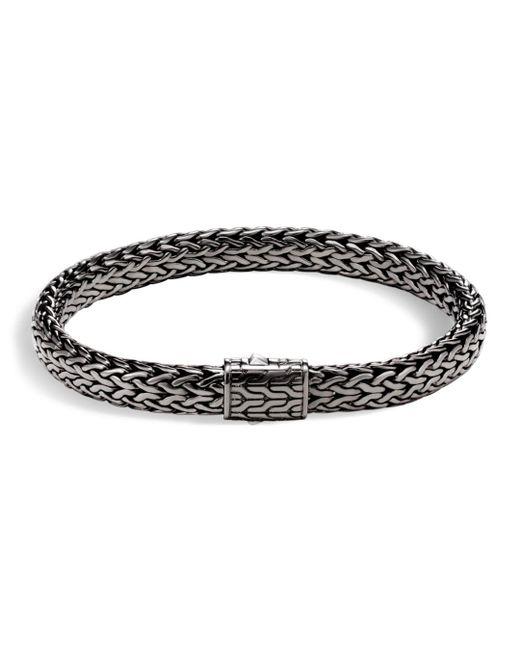 John Hardy - Metallic Men's Sterling Silver Medium Flat Classic Chain Bracelet for Men - Lyst