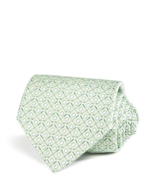Vineyard Vines - Green Golf Clubs Classic Tie for Men - Lyst