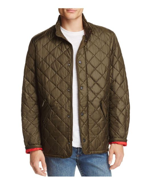 Barbour - Green Flyweight Chelsea Quilted Jacket for Men - Lyst