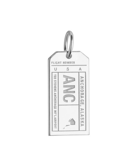 Jet Set Candy - Metallic Alaska Anc Luggage Tag Charm - Lyst