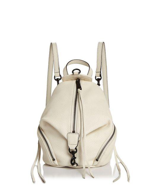Rebecca Minkoff - Multicolor Julian Convertible Mini Leather Backpack - Lyst
