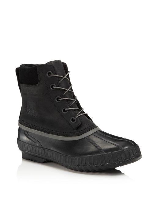 Sorel | Black Men's Cheyanne Ii Boots for Men | Lyst