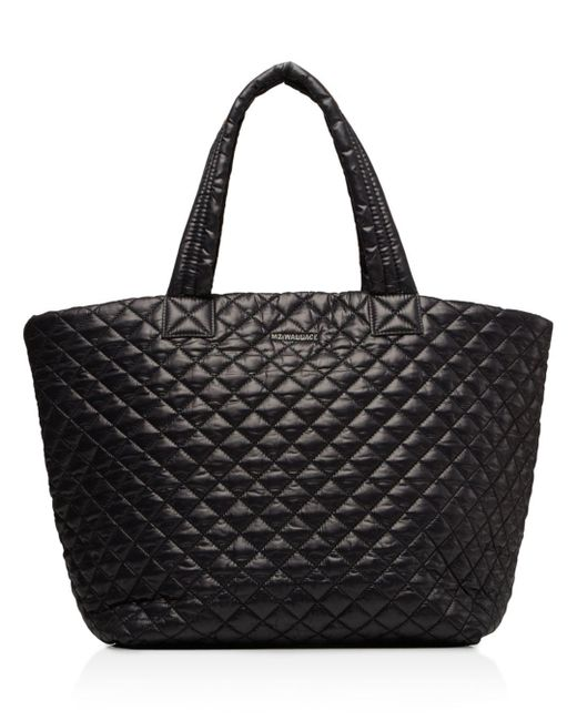 MZ Wallace - Red Metro Quilted Tote - Lyst