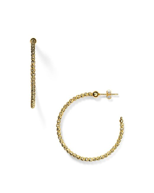 Officina Bernardi | Metallic Hoop Earrings | Lyst