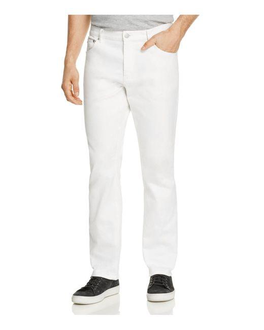 Michael Kors | Slim Fit Jeans In White for Men | Lyst