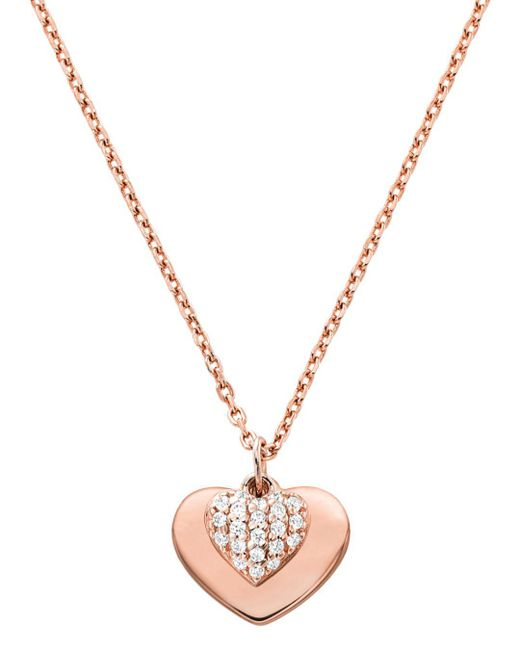 Michael Kors - Metallic 14k Rose Gold-plated Sterling Silver Or Solid Sterling Silver - Lyst