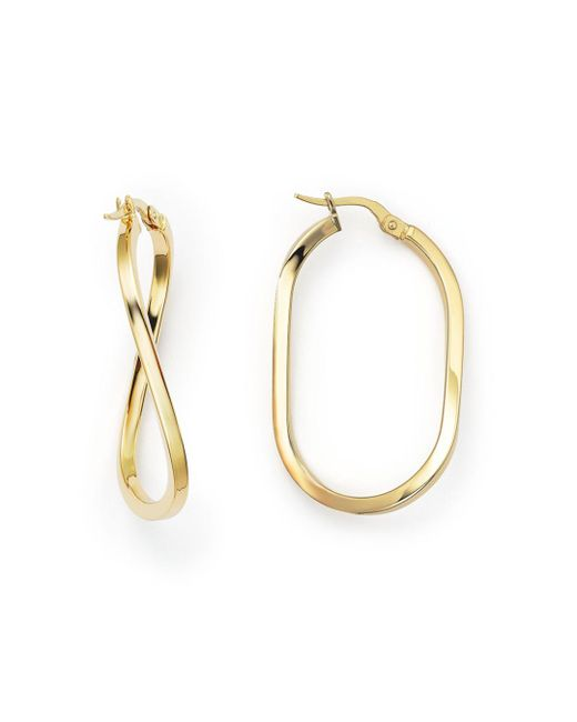 Roberto Coin - Metallic 18k Yellow Gold Earrings - Lyst