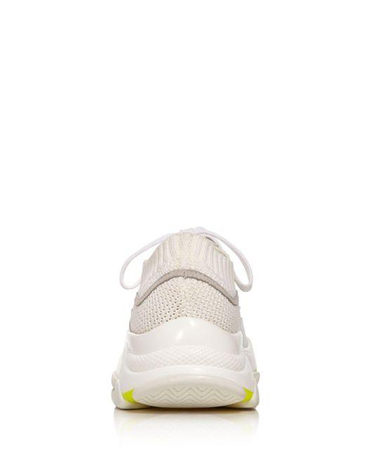 010fba64cd ... Aqua - Multicolor Women's Mack Lace - Up Knit Sneakers ...