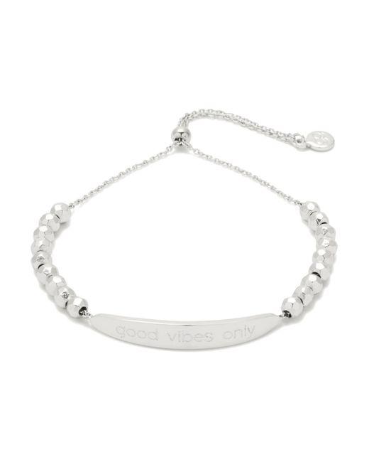 Gorjana | Metallic Good Vibes Bracelet | Lyst