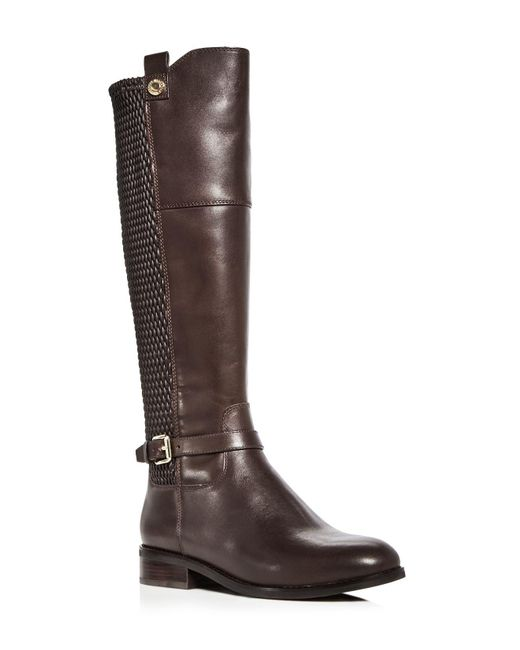 Cole Haan | Brown Women's Galina Leather Tall Boots | Lyst