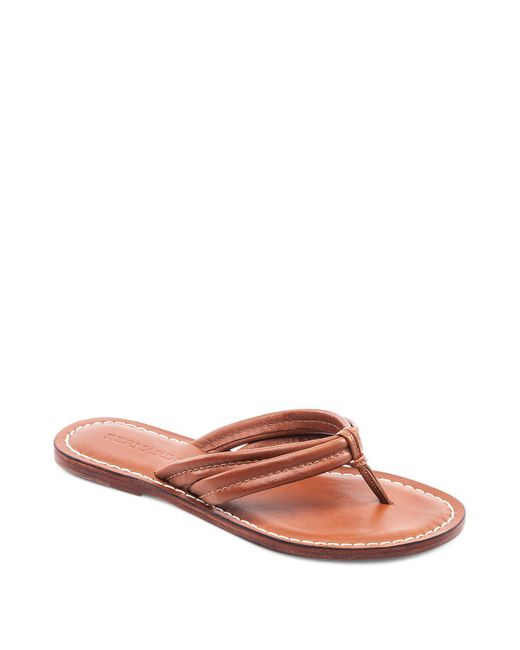 Bernardo | Multicolor Miami Two Strap Thong Sandals | Lyst
