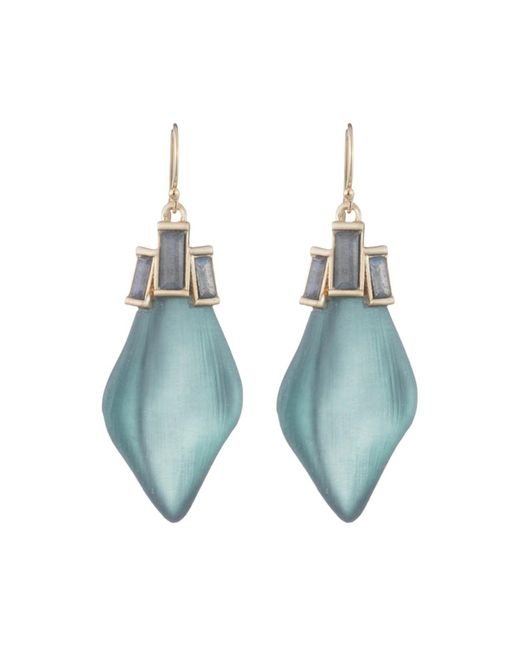 Alexis Bittar - Blue Abstract Drop Earrings - Lyst