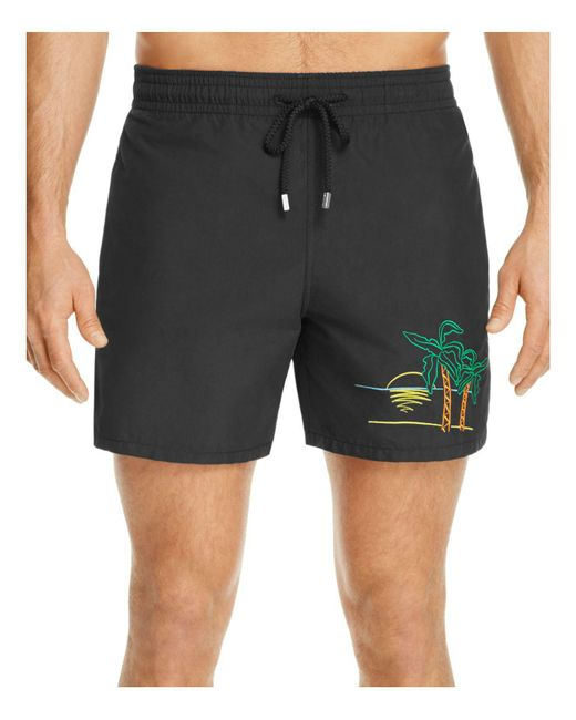 Vilebrequin - Black Mini Moke Swim Trunks for Men - Lyst