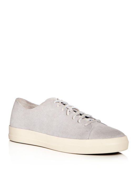 Vince - Gray Men's Copeland Suede Lace Up Sneakers for Men - Lyst